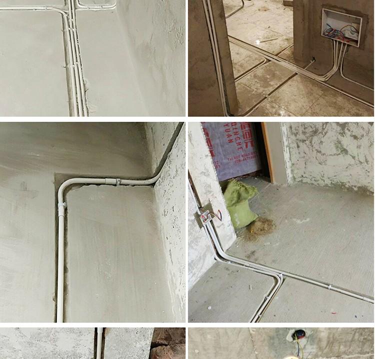 半包水管漏水布线图解