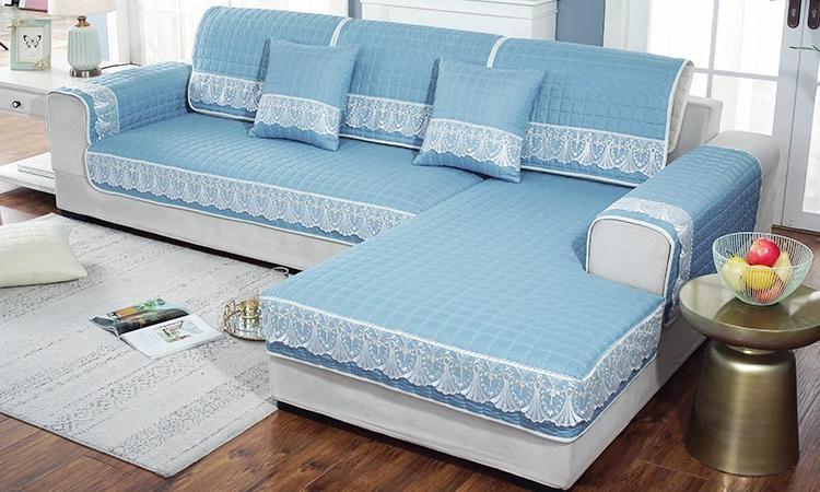 新家专属定制沙发套,这份美貌猝不及防