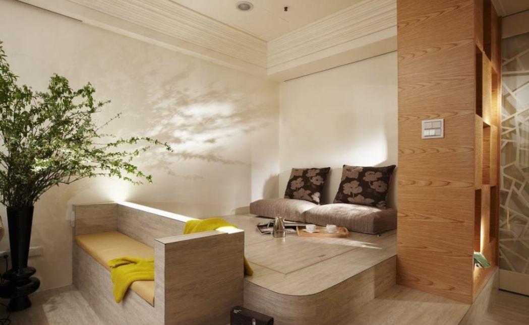 休闲多元和室装修效果图
