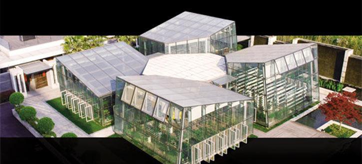 现代风格五行建筑设计图片