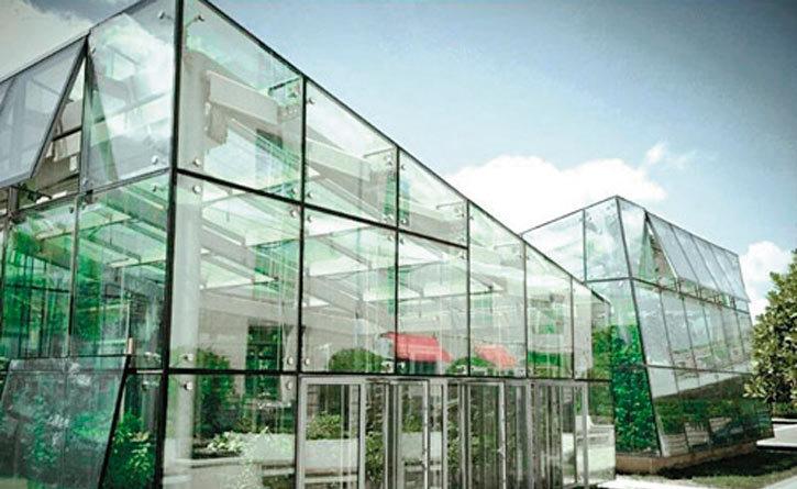 现代风格玻璃温室设计图片