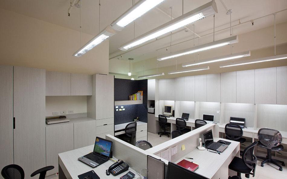现代风格工作区装修案例