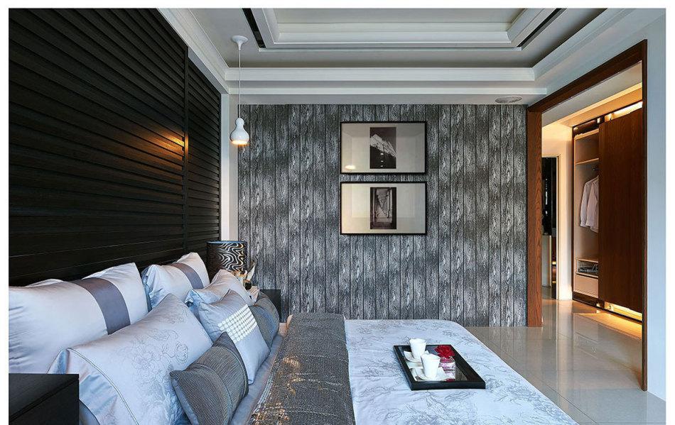 现代风格主卧房设计图片
