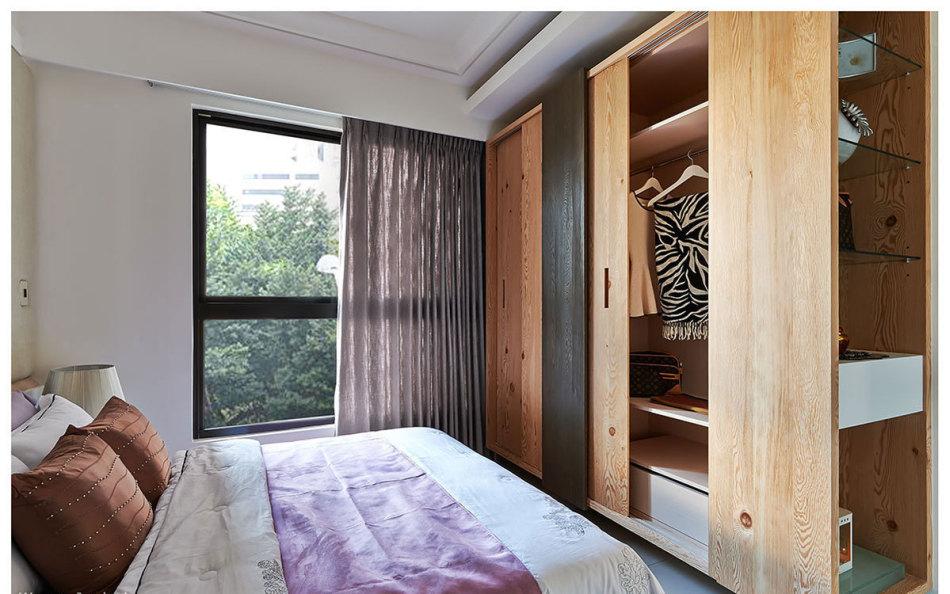 现代风格衣柜设计设计图片