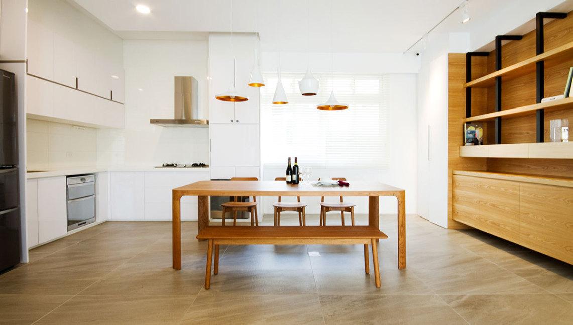 现代风格餐厨区图片