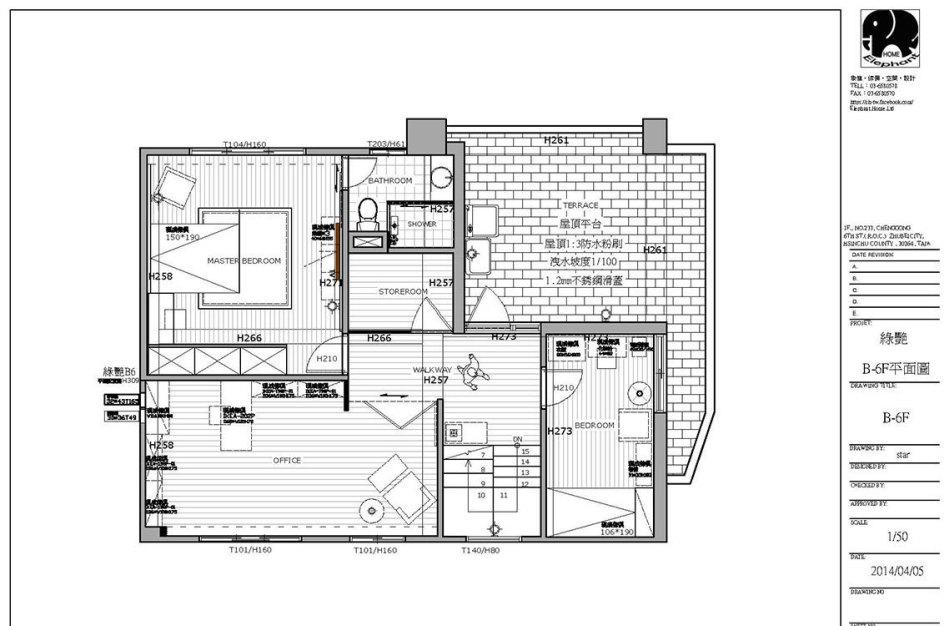 现代风格二楼平面图图片
