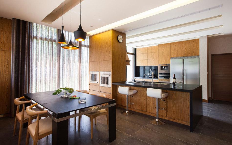 现代风格厨房&小餐厅装修案例