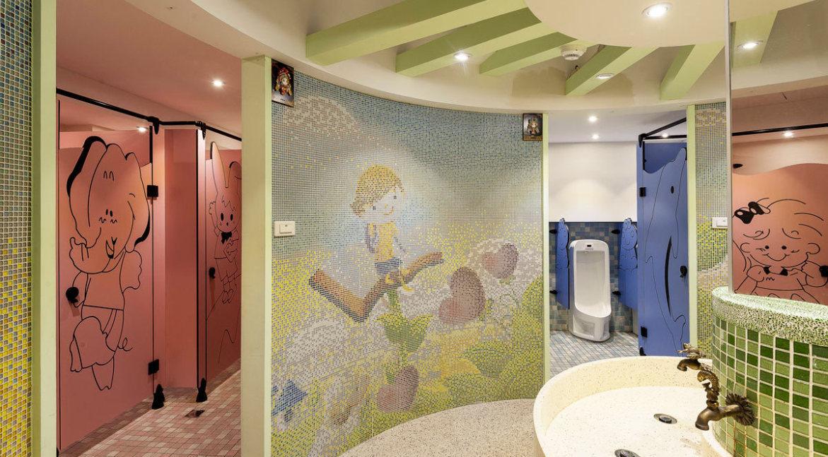 现代风格厕所区装修效果图