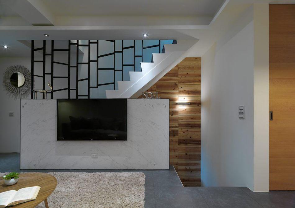 现代风格梯间造型图片