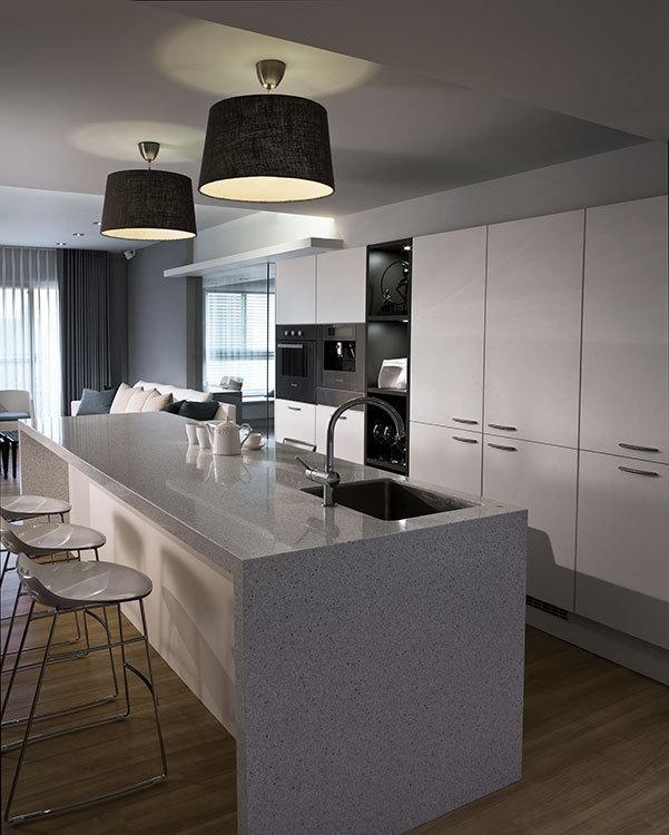 现代风格餐厨区设计图片