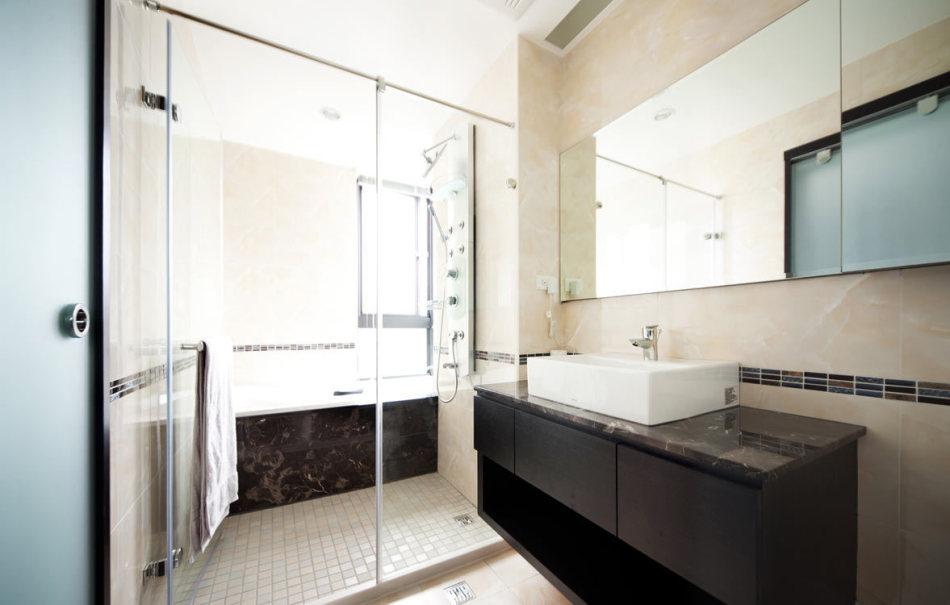 现代风格卫浴装修案例