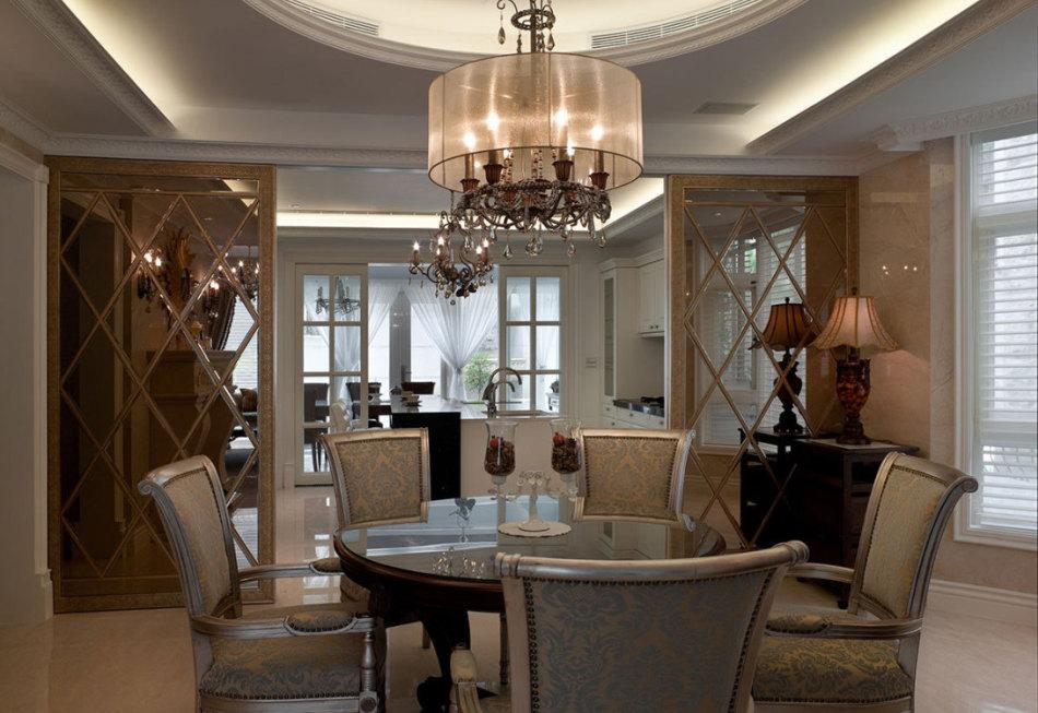 古典风格餐厅装修图片