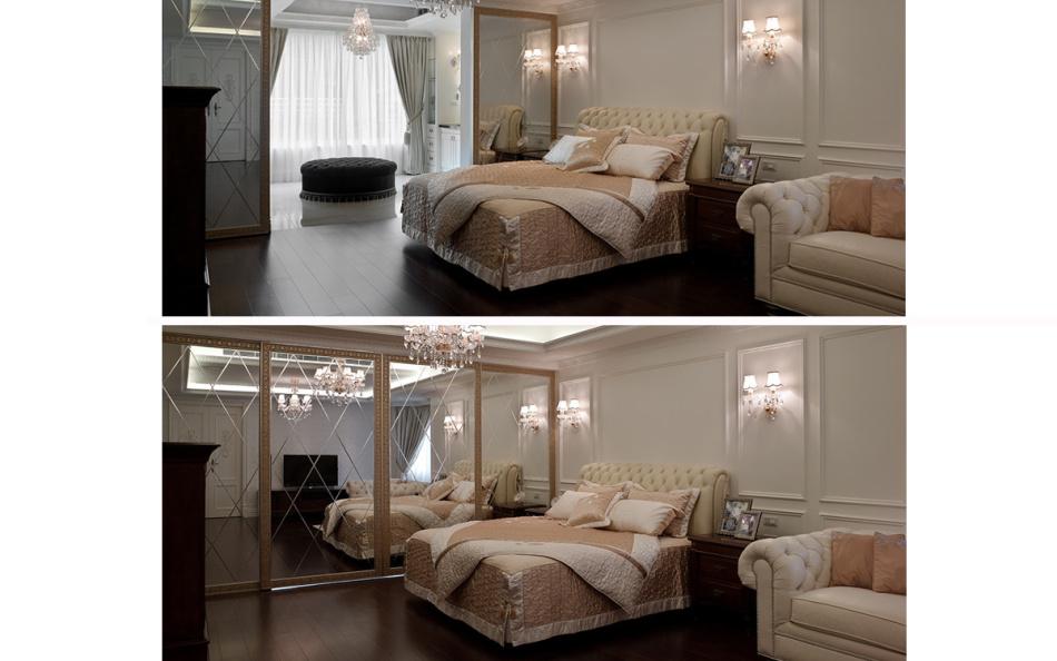 古典风格主卧房装修图片