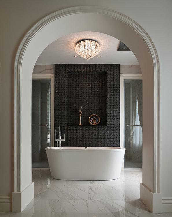 古典风格沐浴区装修图片