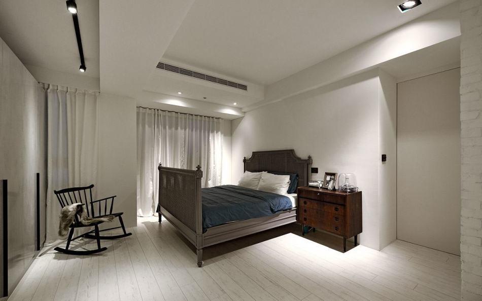 混搭风主卧室装修案例
