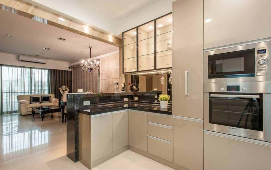 新古典料理烹调区设计图片