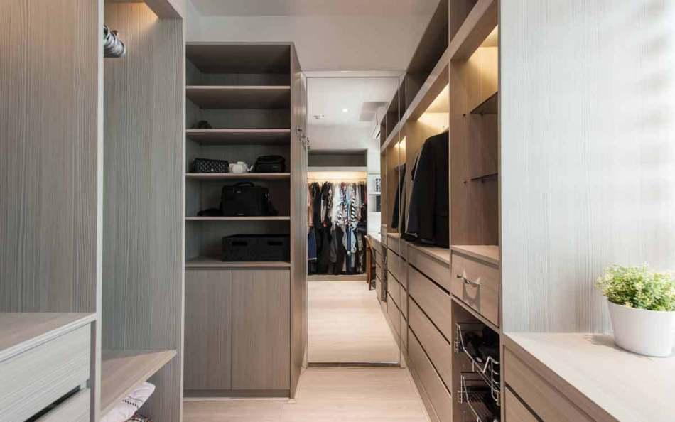 新古典主卧更衣室设计图片