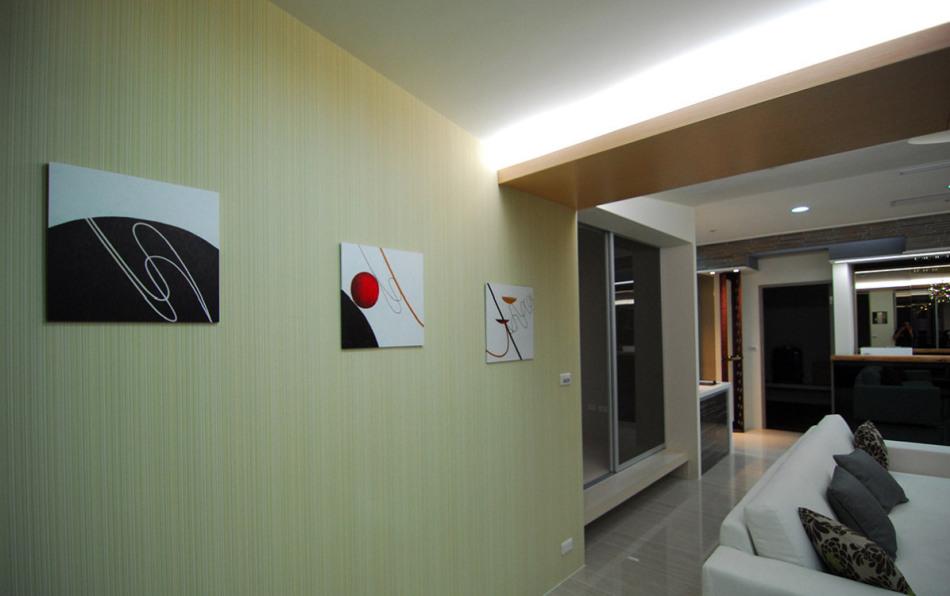 现代风格装饰与用色设计图片