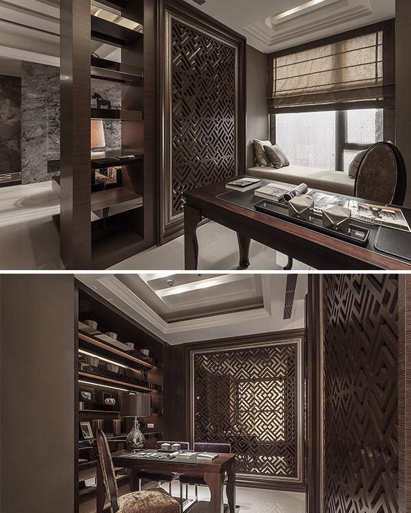 古典风格书房装修效果图
