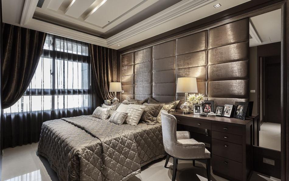 古典风格主卧房装修效果图