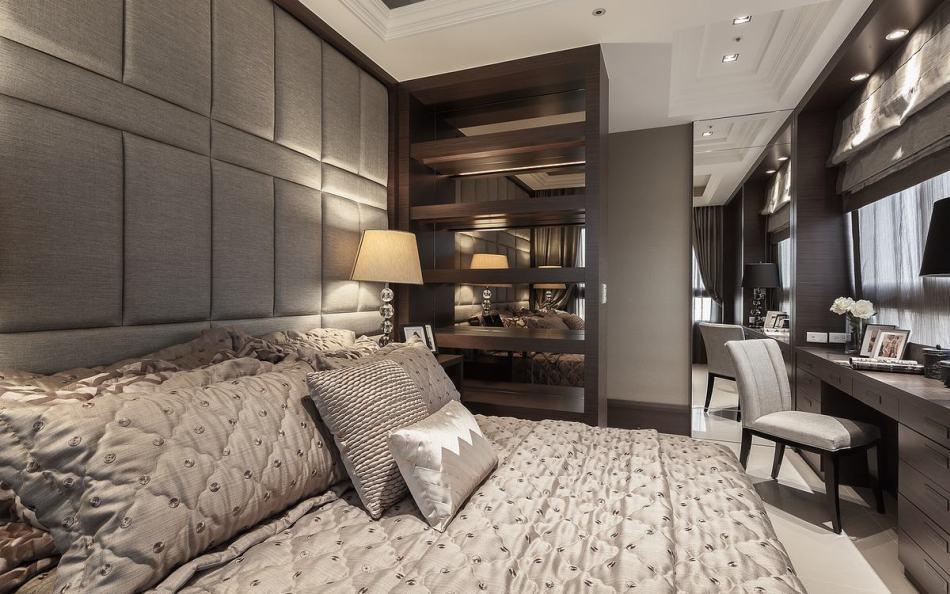 古典风格客房装修效果图