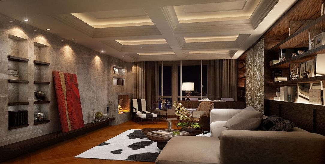 古典风格起居室图片