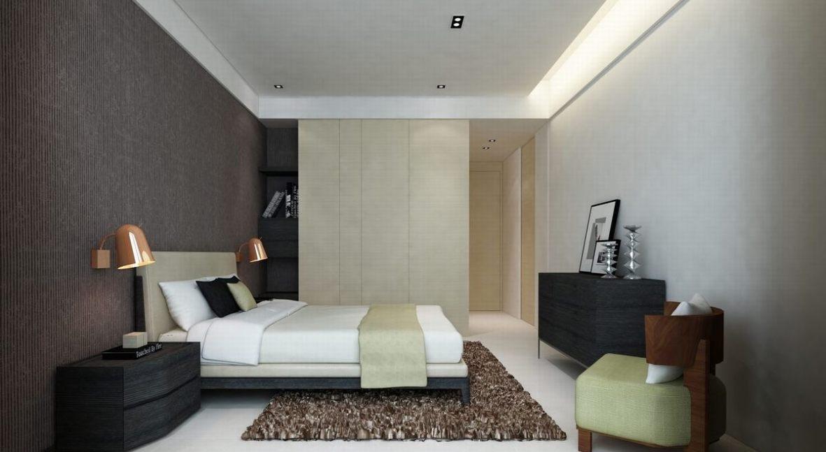 现代风格主卧室图片