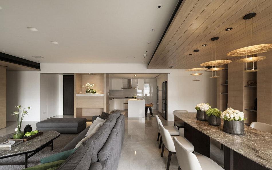 现代风格餐厅设计效果图