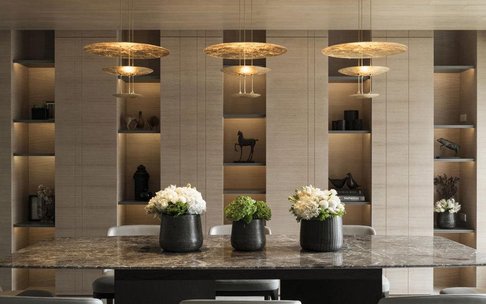 现代风格艺术展示柜设计效果图
