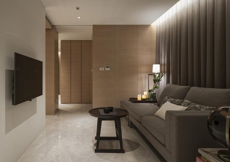 现代风格起居室设计效果图