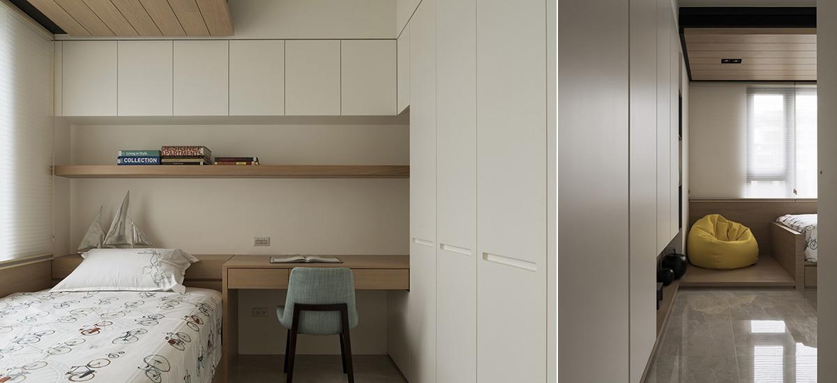 现代风格小儿子房设计效果图