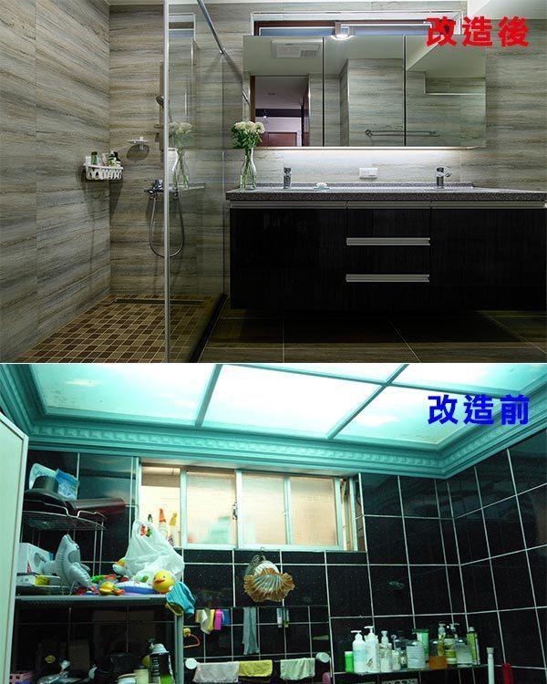 工业风格卫浴(一)图