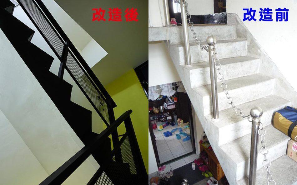 工业风格楼梯图