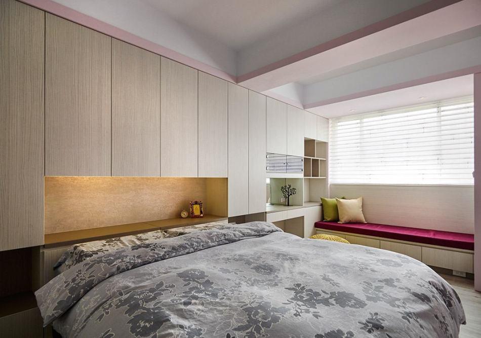 现代时尚主卧室图片