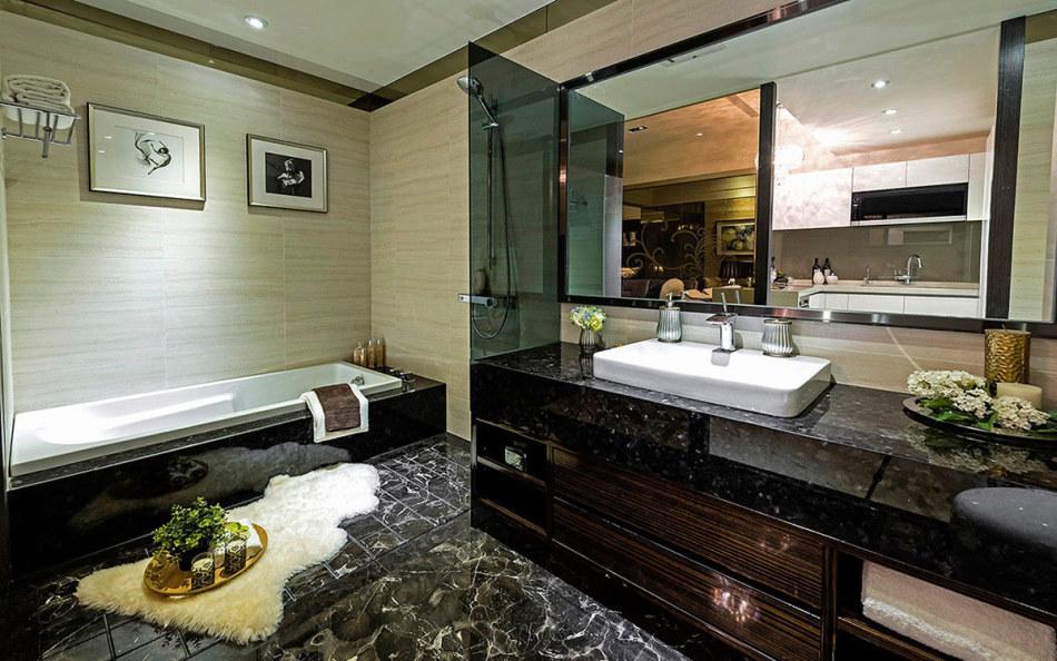 奢华风格卫浴设计效果图
