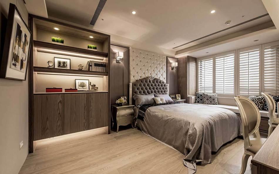 新古典次卧房图片