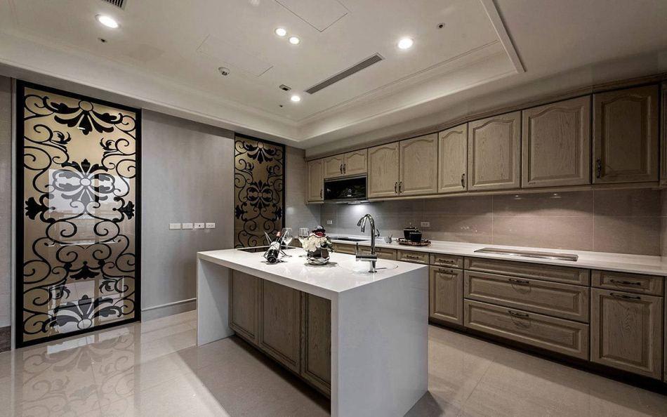 新古典厨房图片