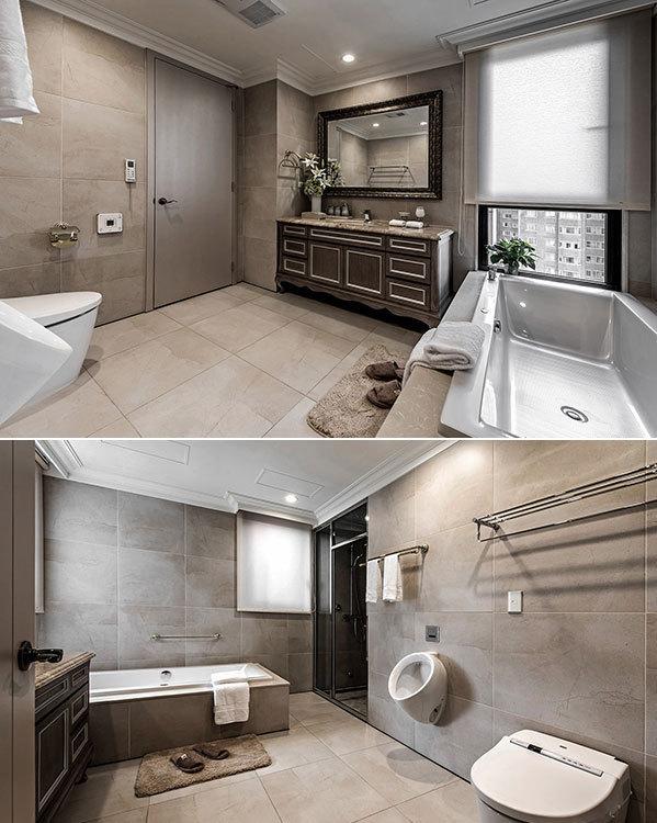 新古典卫浴空间图片