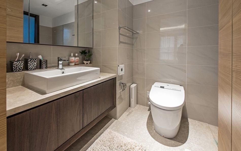 新古典主卧卫浴装修效果图