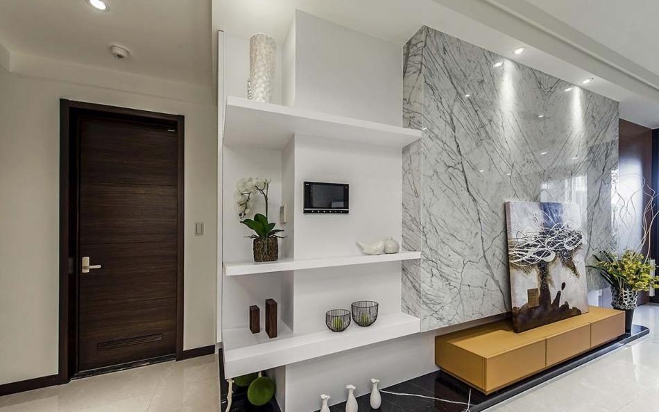 现代风格电视墙装修案例