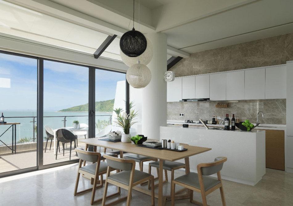 休闲多元餐厨区设计图片