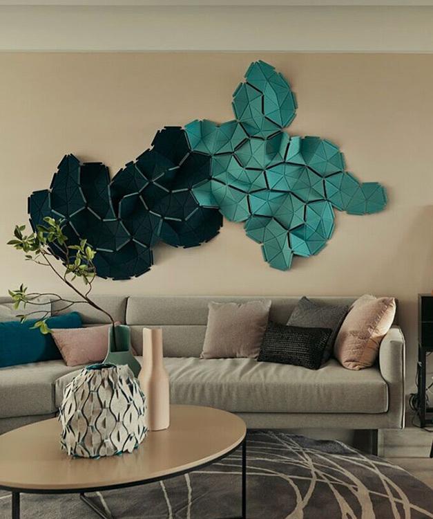 现代风格壁饰艺术图