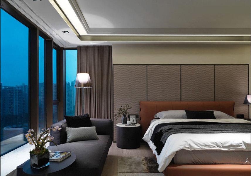 现代风格旅店意象效果图