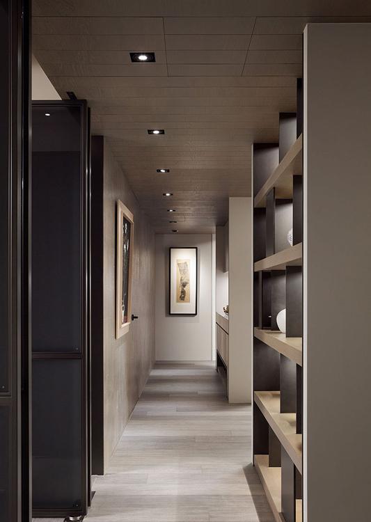 现代风格廊道设计图片