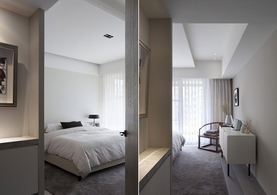 现代风格卧房设计设计图片