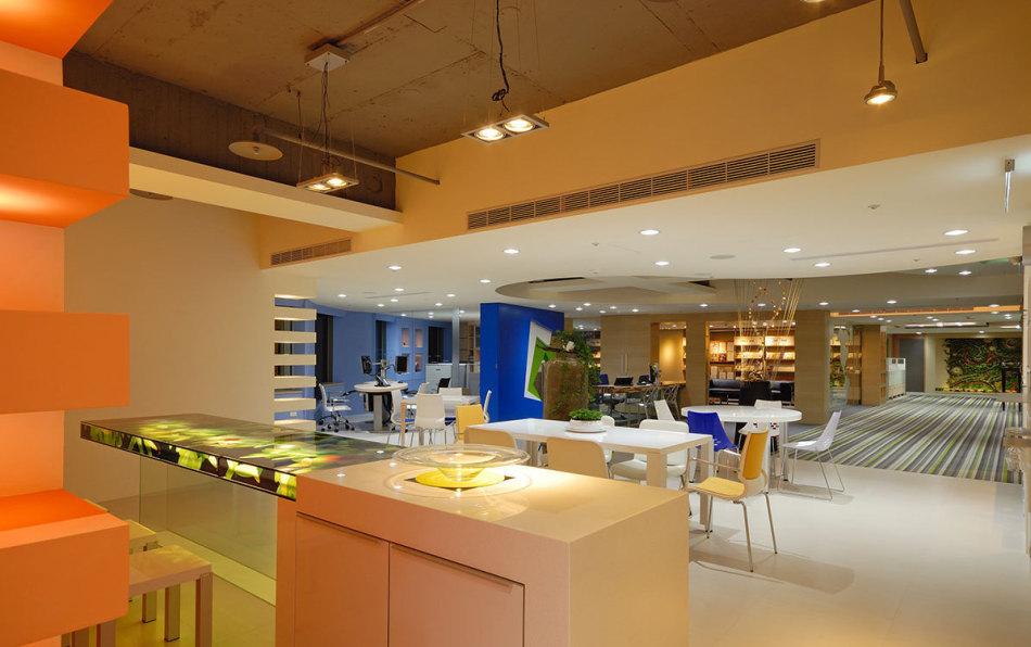 现代风格用餐区效果图