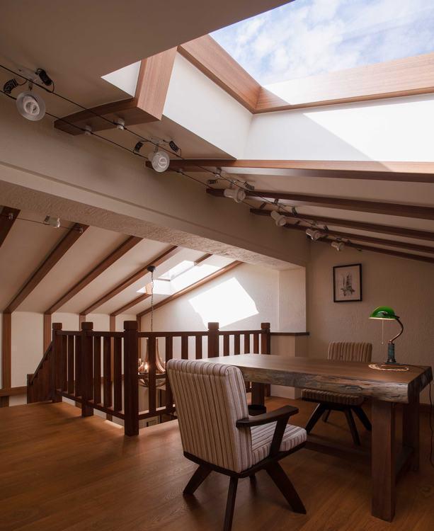 乡村风格屋顶天窗装修图片