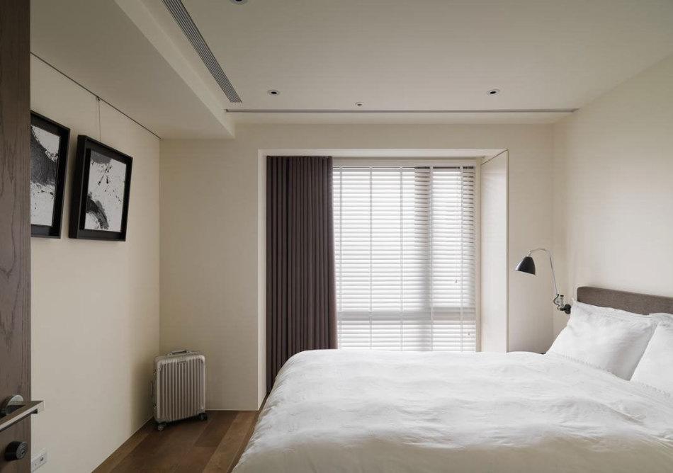 现代风格男主卧房设计图片