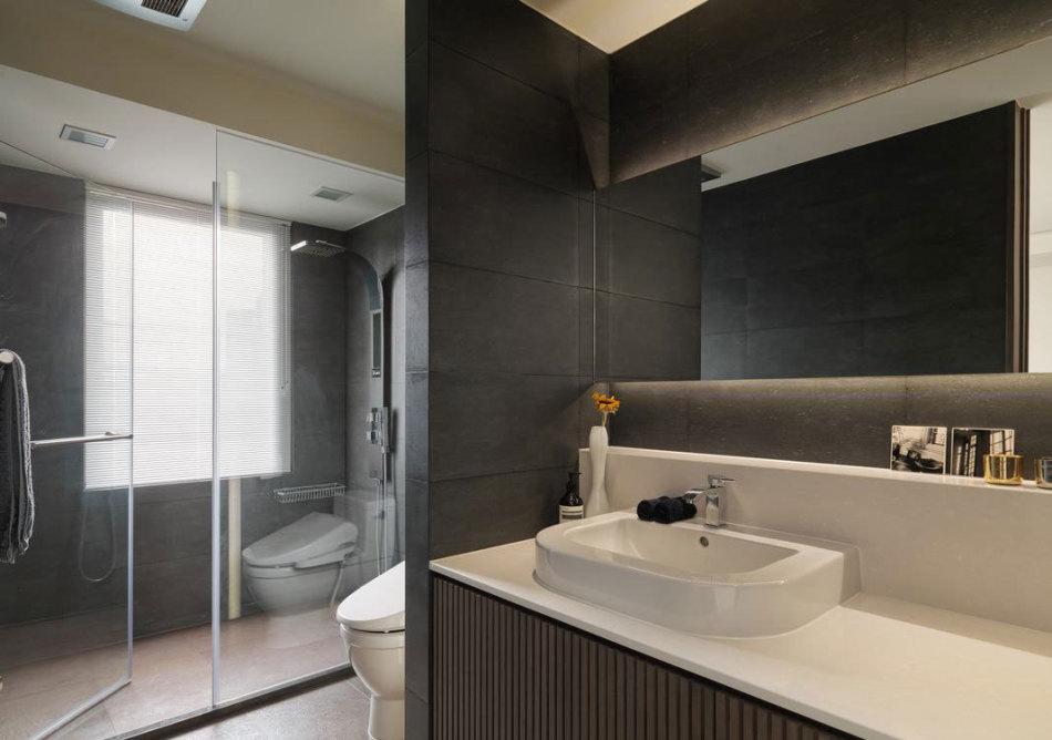 现代风格男主浴设计图片