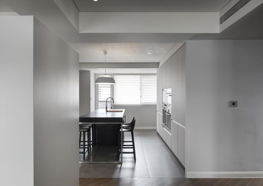 现代风格厨房空间效果图